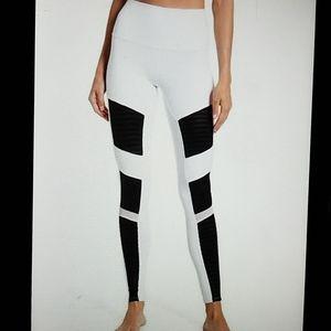 *Alo Yoga High-Waist Moto Leggings*